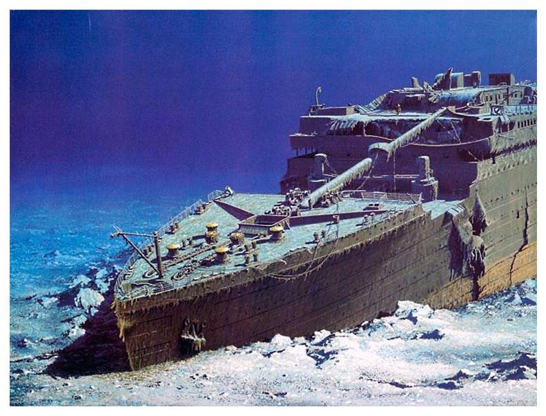 Discovering World Through Google Earth Titanic